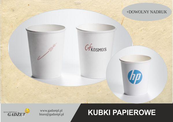 artykuły papierowe z logo