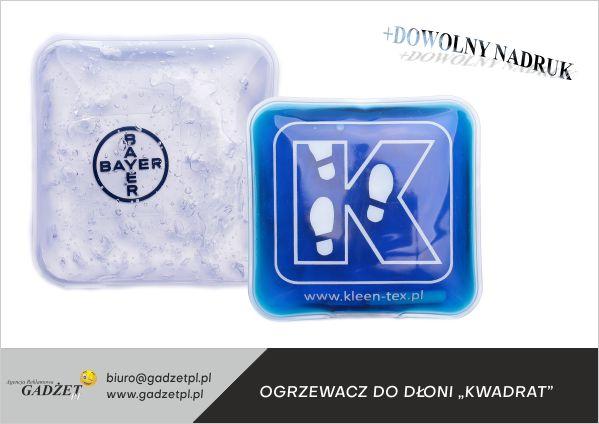 ogrzewacze z logo
