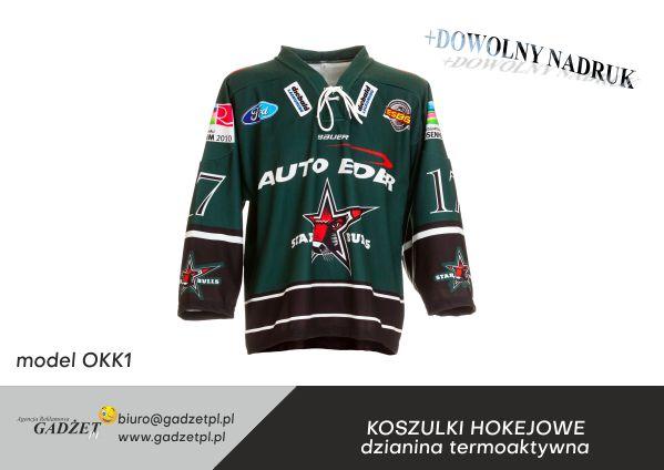 koszulki hokejowe z nadrukiem
