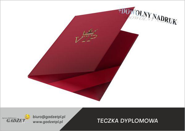 teczki dyplomowe z logo