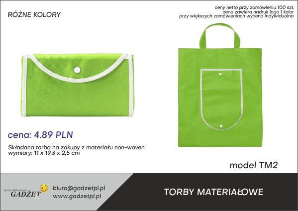 torby reklamowe materiałowe