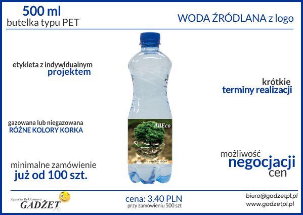 woda z logo