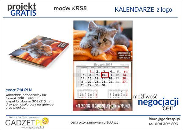 kalendarze z logo firmy