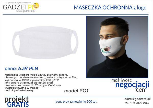 produkty ochrony osobistej z logo