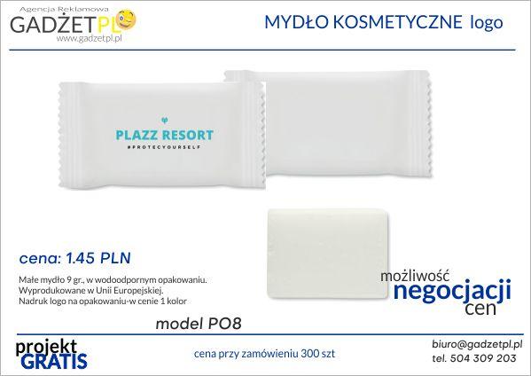 produkty ochrony osobistej z logo mydła
