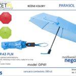 parasol składany z nadrukiem