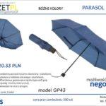 parasol z logo