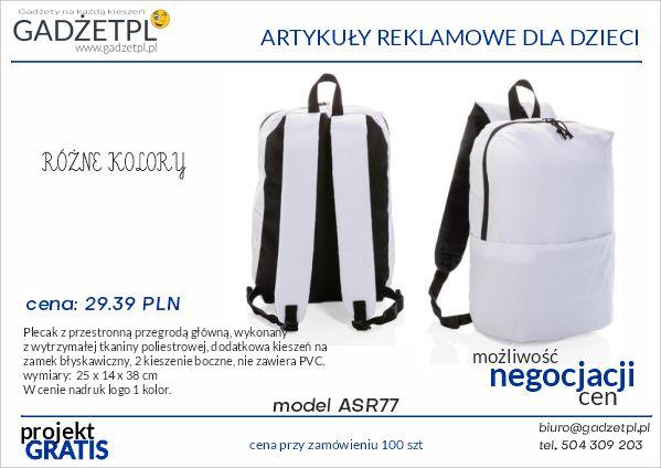 plecaki reklamowe z nadrukiem