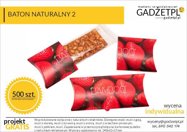 słodycze ekologiczne z logo